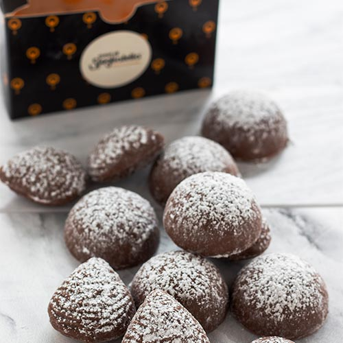nudi cioccolato cuori di sfogliatella